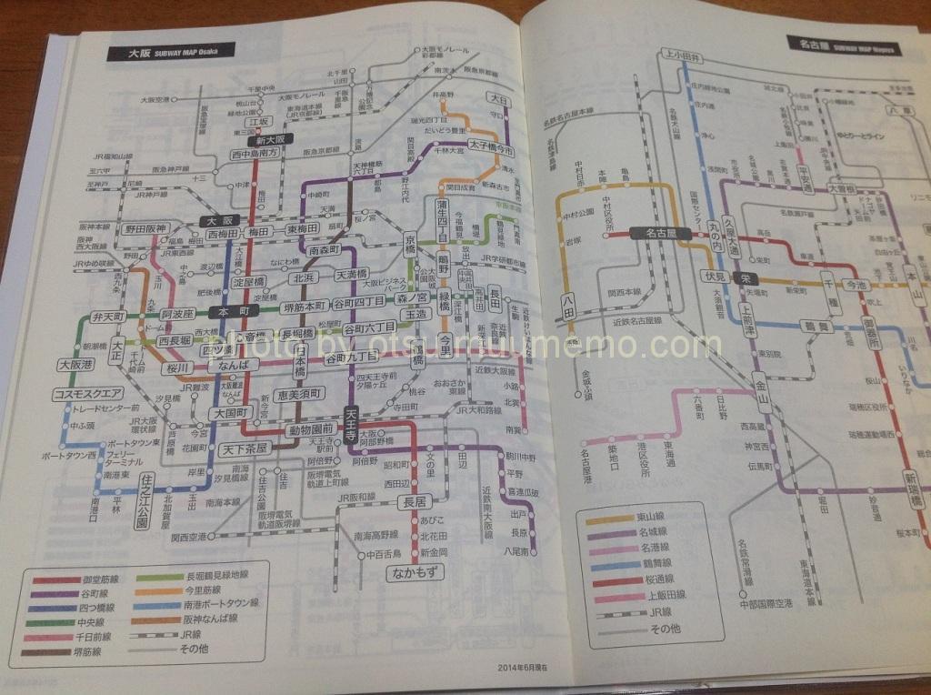 路線図のページ