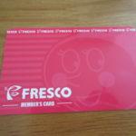 フレスコメンバーズカードは作るべきか否か
