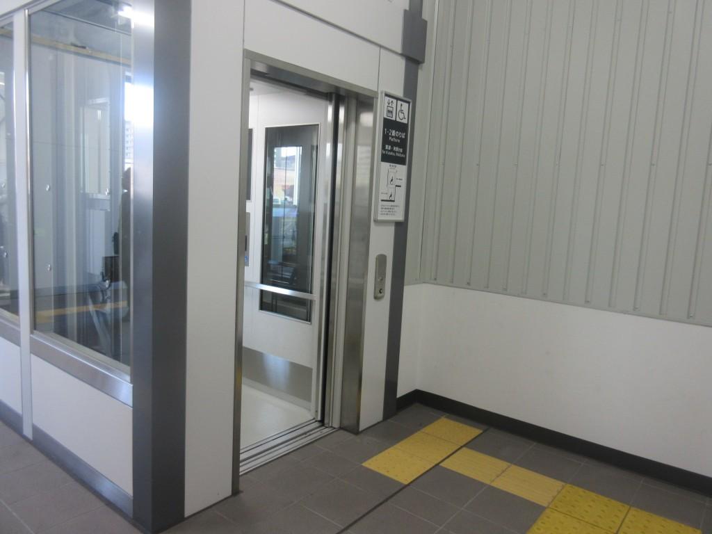 膳所駅エレベーター