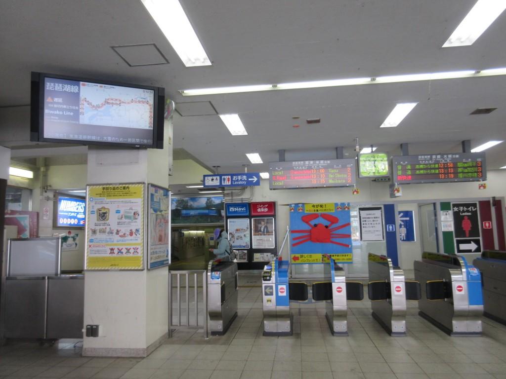琵琶湖線が遅延