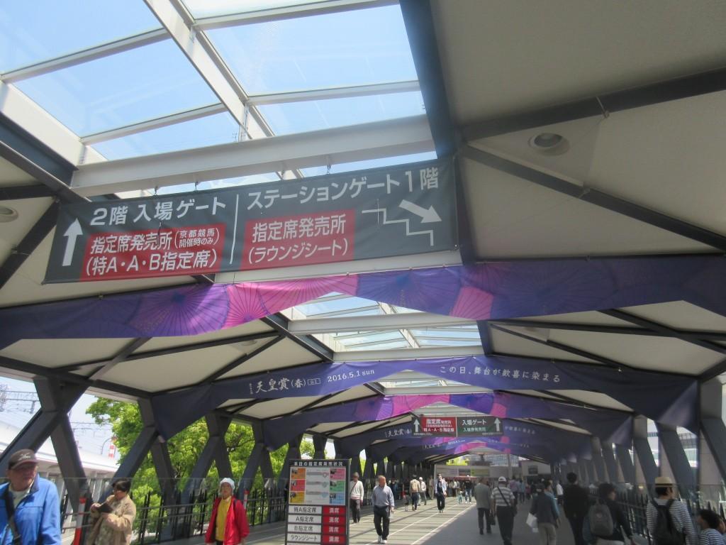 淀駅から京都競馬場
