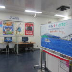 NHK大津に生さだのホワイトボード絵が飾ってありました