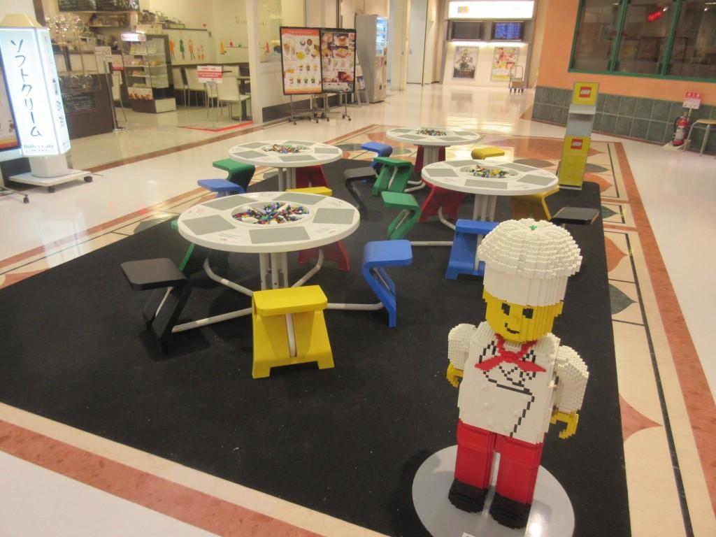 レゴで遊べるスペース