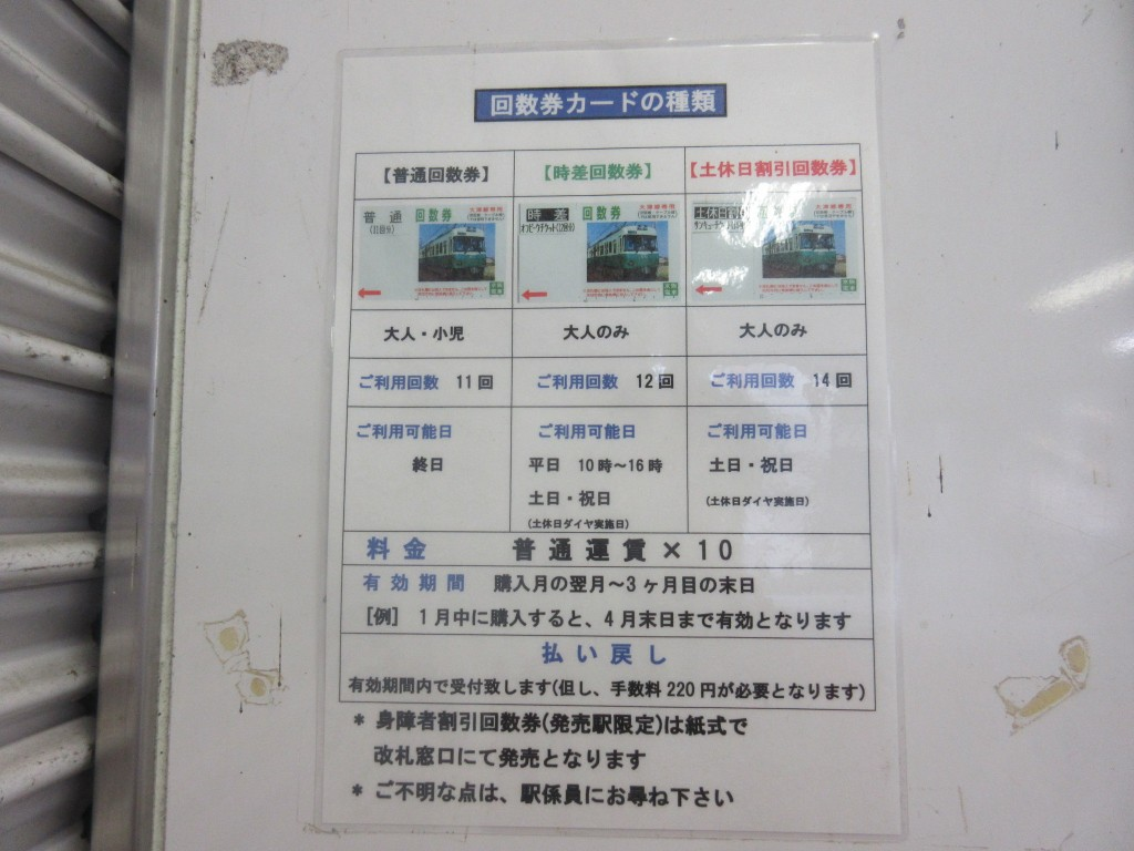 京阪大津線の回数券