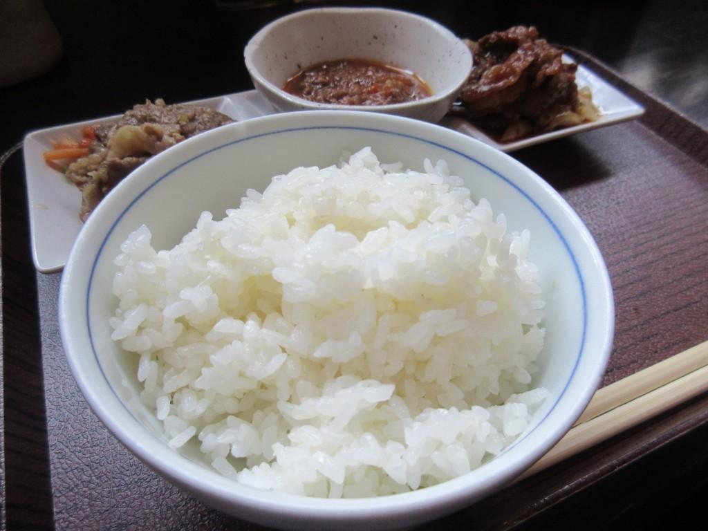 近江牛3点セット定食