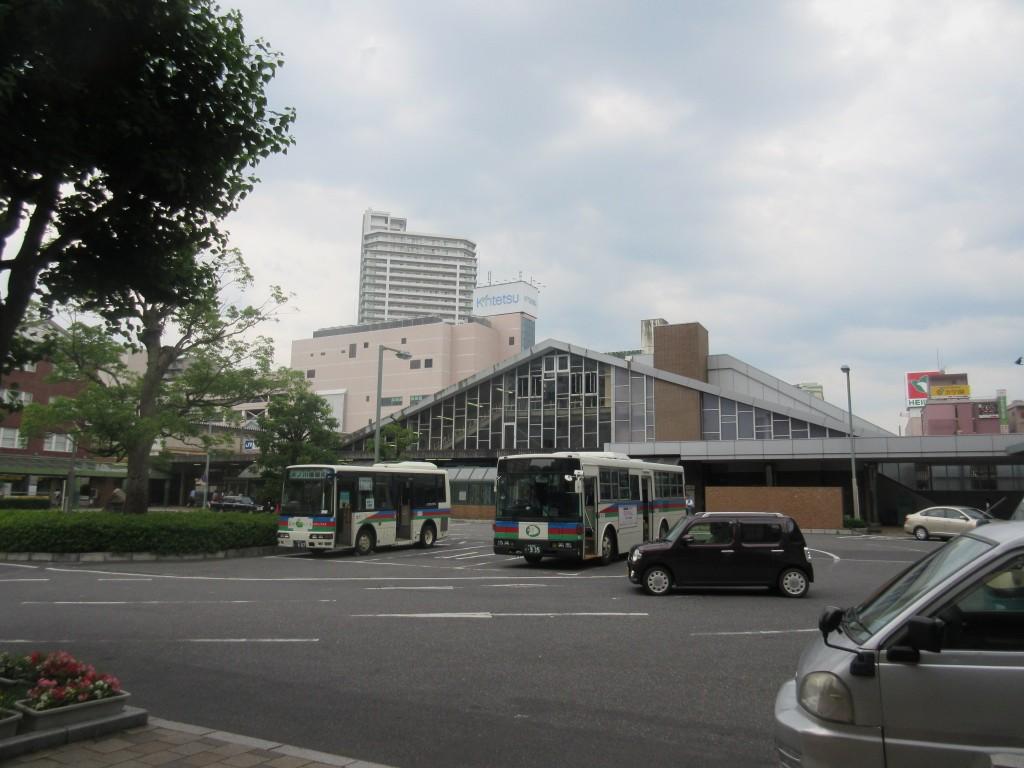 草津駅ロータリー