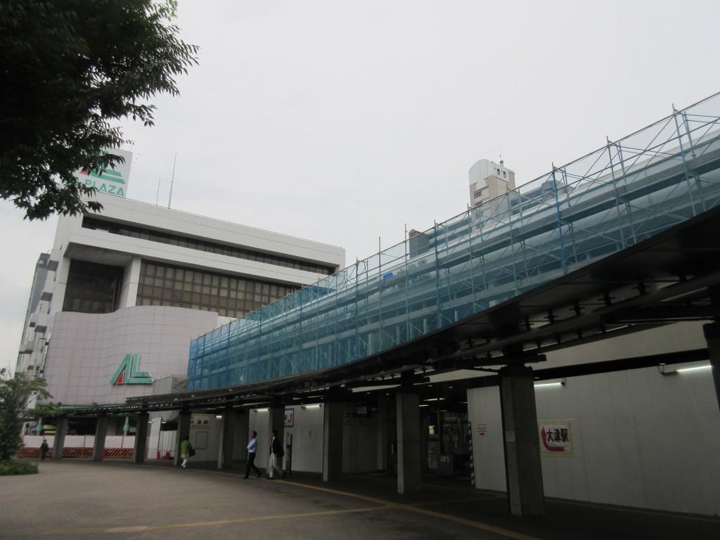 大津駅全体