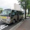 平和堂石山店へのお買い物送迎バスに乗ってきました