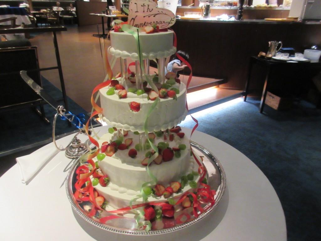 ベルラーゴのバースデーケーキ