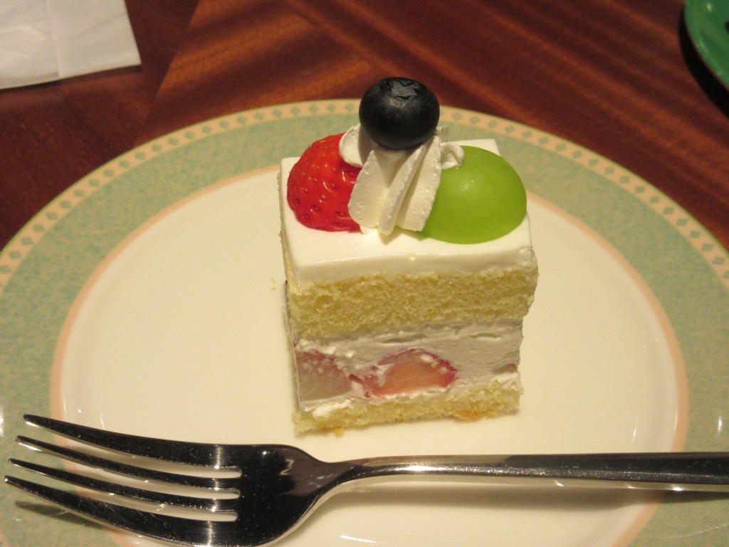 バースデーケーキのサービス