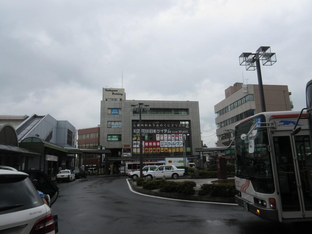 瀬田駅前ロータリー