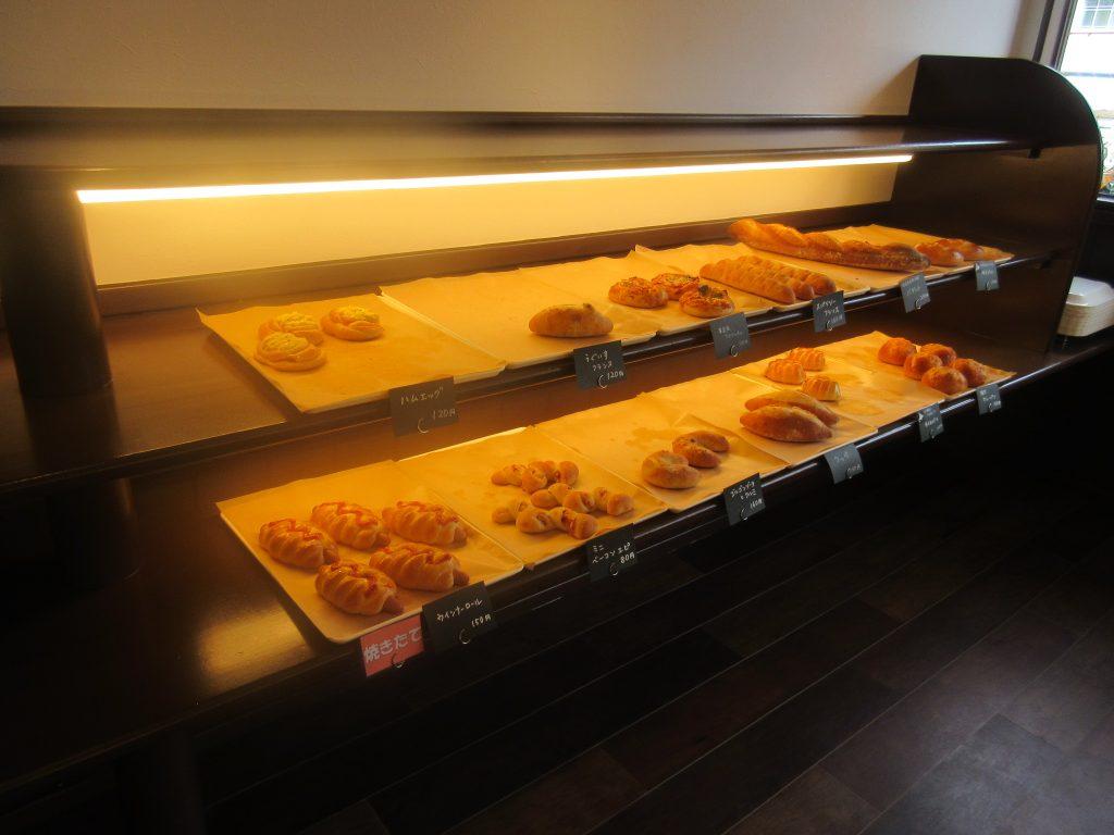 ブーランジェリーオリーブのパン