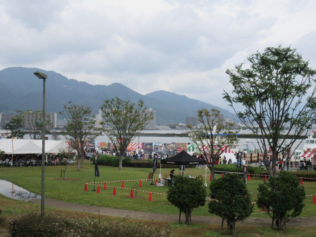 大津港の食の祭典