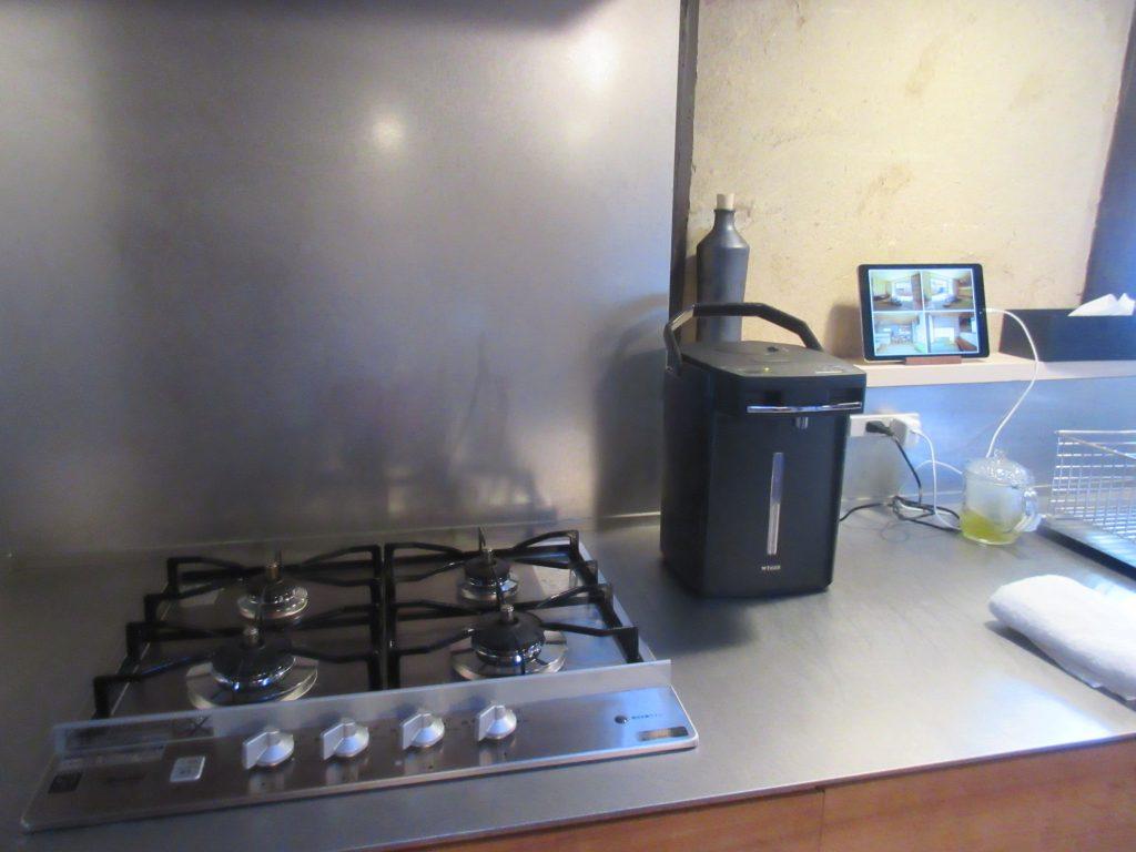 大津百町スタジオのキッチン