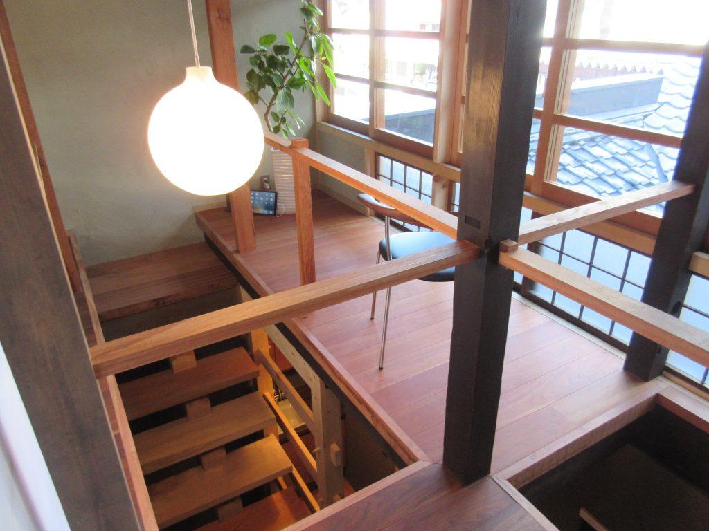 大津百町スタジオの2階