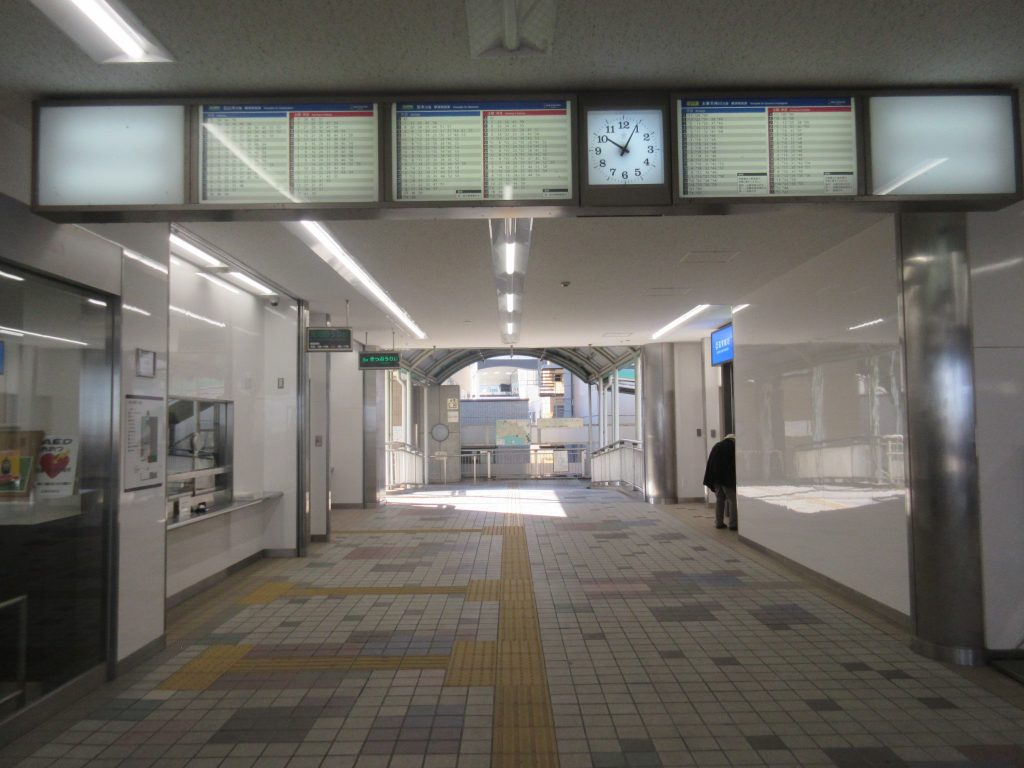 浜大津駅スタート地点