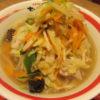 ビエラ大津ちゃんぽん亭の野菜並盛・野菜大盛り・野菜1日盛りを比べました!