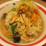 ちゃんぽん亭の「近江ちゃんぽん」野菜並盛・大盛り・1日盛りを比較!