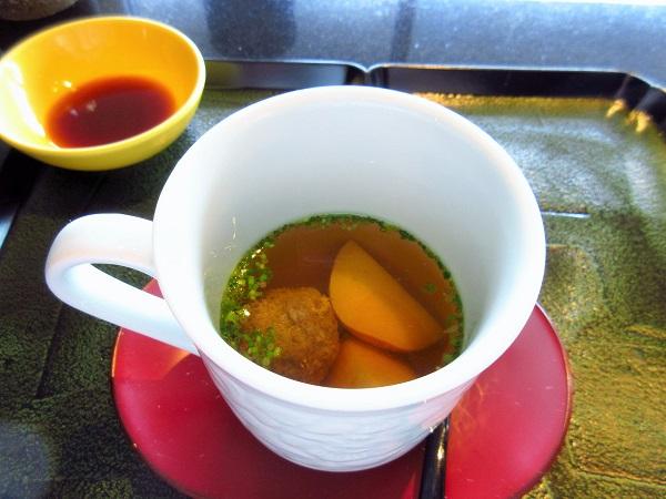 鉄板焼おおみのスープ