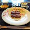 琵琶湖ホテルの鉄板焼おおみへ。ランチコース「藤娘」をいただきました