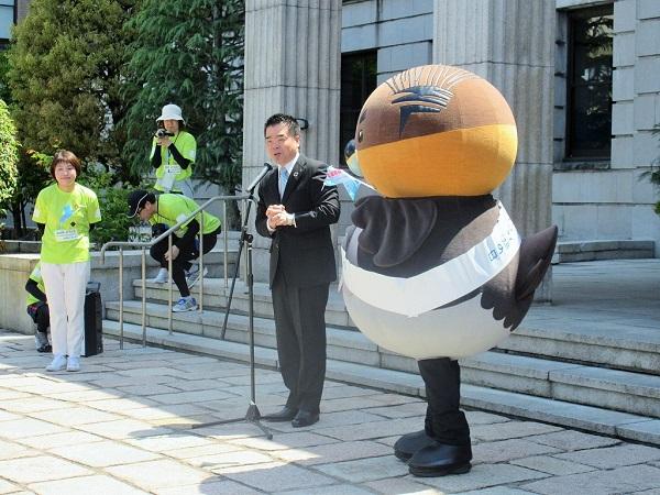 野洲のおっさんと三日月知事