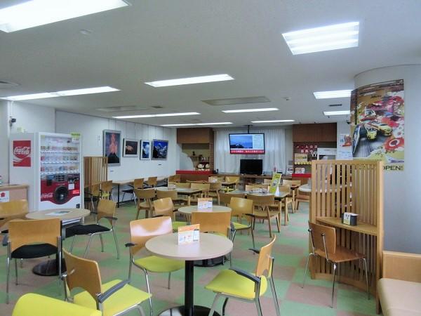 献血ルーム京都駅前の内部