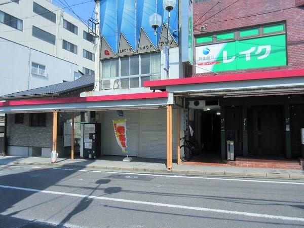 大津駅前商店街の新しい金券自動販売機