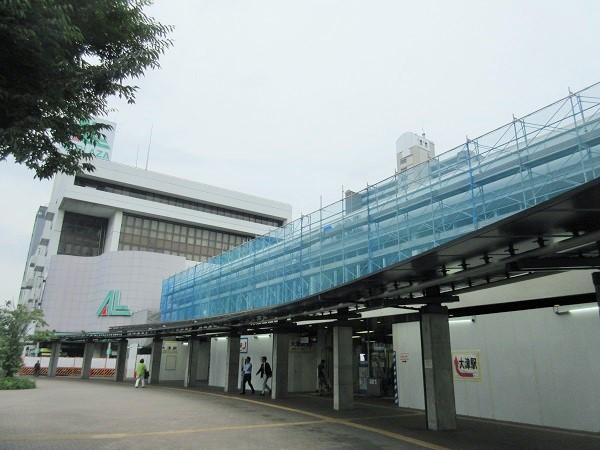2016年6月の大津駅