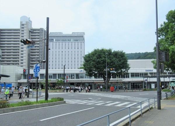 午前9時の大津駅