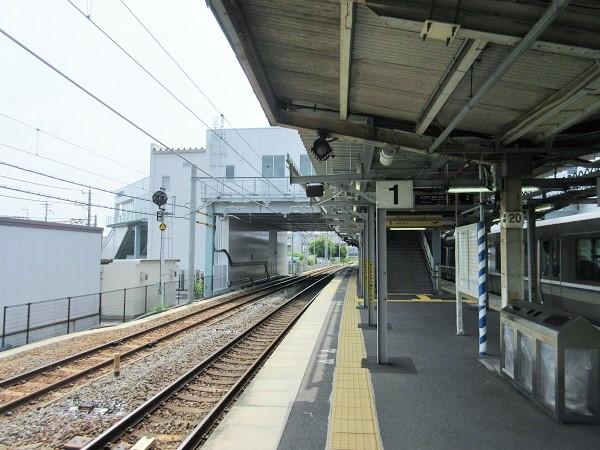 JR膳所駅ホーム