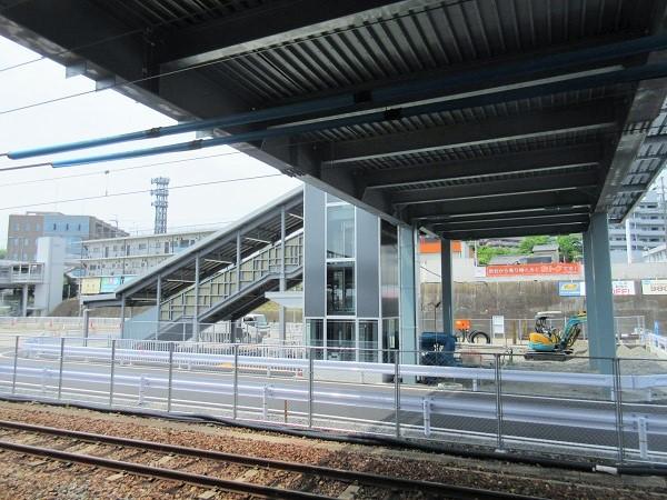 JR膳所駅の新しい出口
