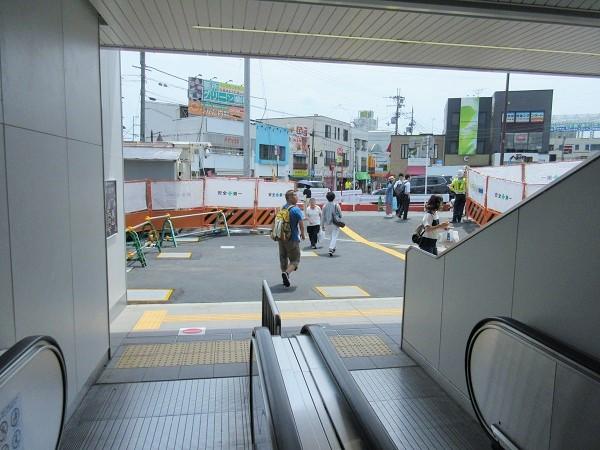 JR膳所駅の風景