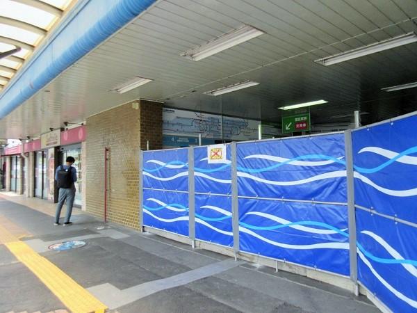 旧JR膳所駅のようす