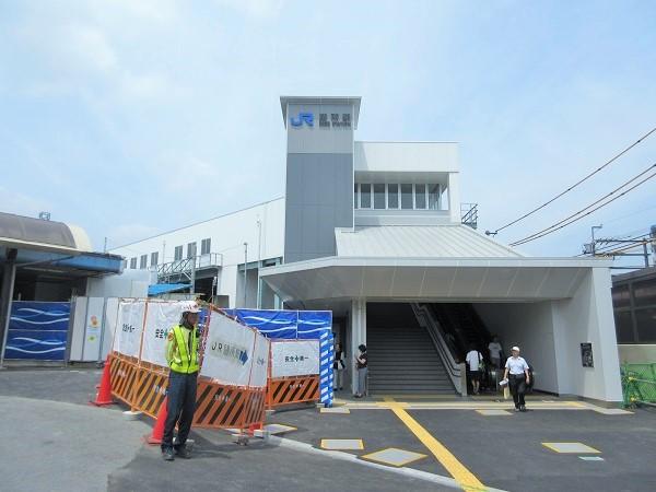 新しいJR膳所駅