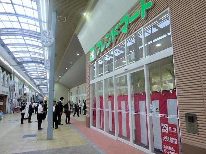 オープン前日のフレンドマート大津なかまち店
