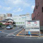 大津市立図書館横の駐車場がタイムズからパラカに変わっていた