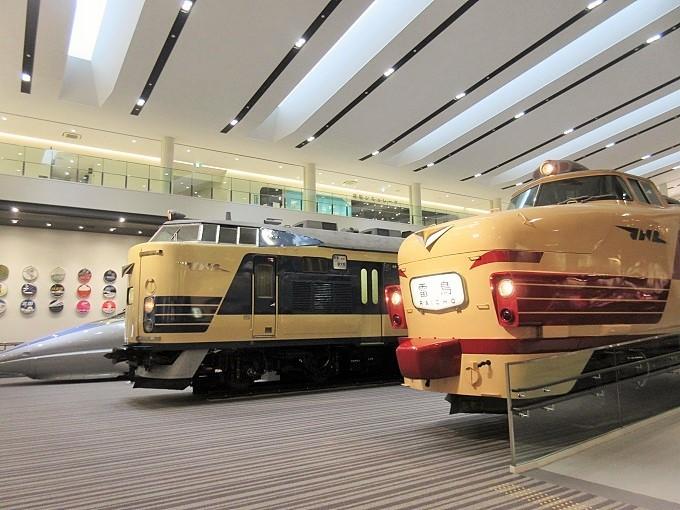 京都鉄道博物館館内
