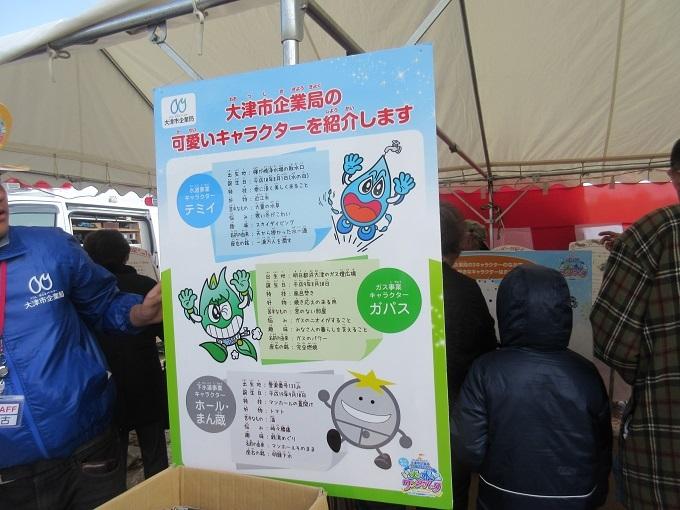 大津市企業局のキャラクター