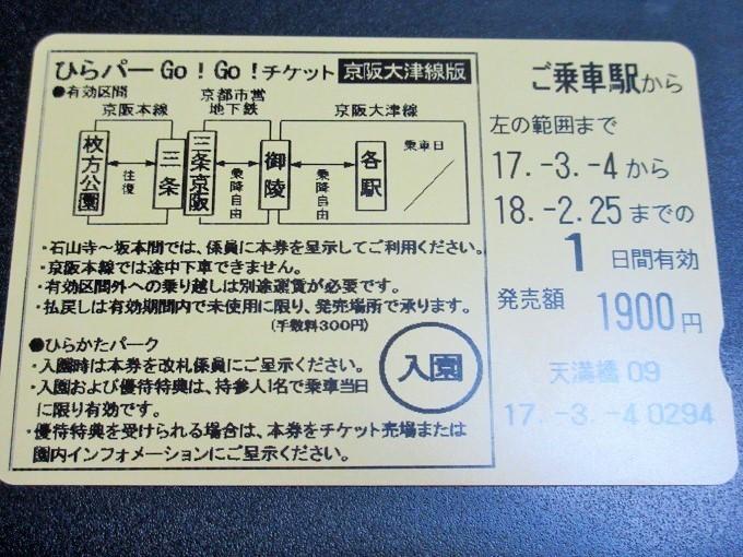 ひらパーGoGoチケット