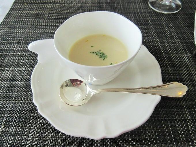 近江かぶらのスープ 柚子の香り