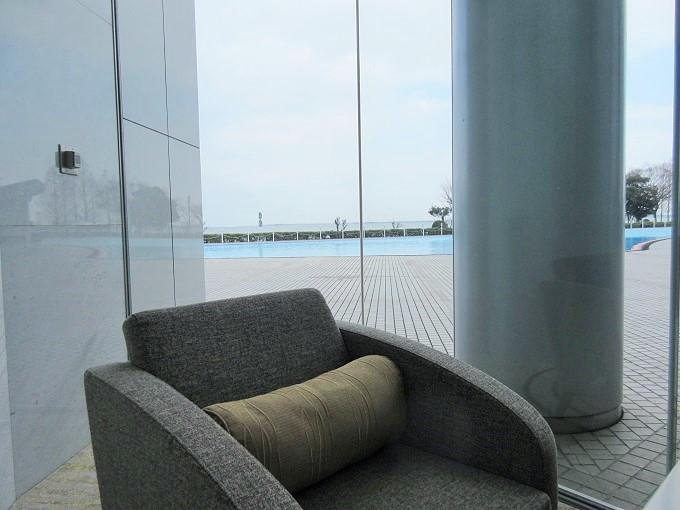 びわ湖大津プリンスホテルラウンジからの眺め