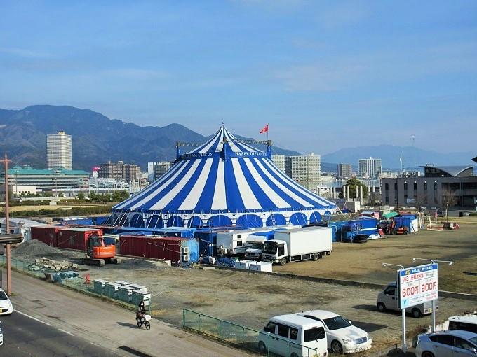 ハッピードリームサーカスのテント