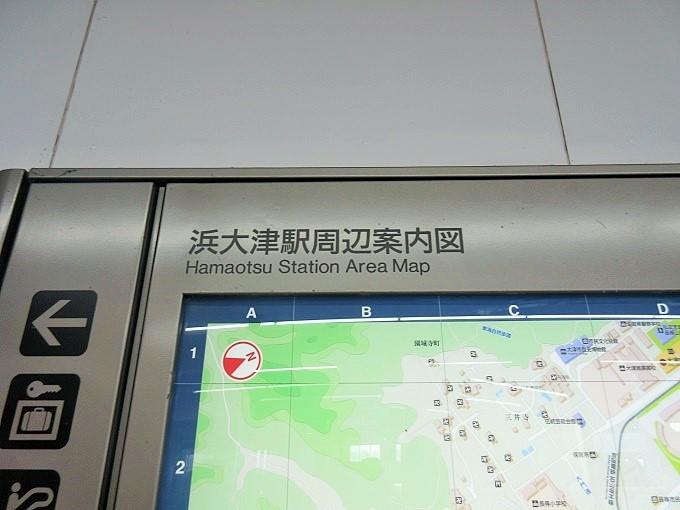 浜大津駅周辺案内図