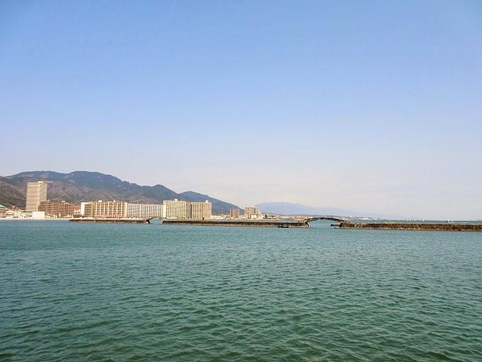 うみのこから見た琵琶湖