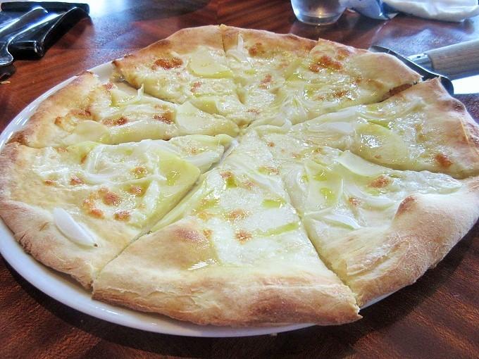 ベルラーゴのピッツァ