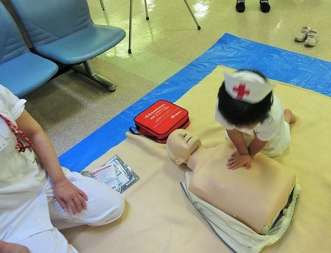 大津赤十字病院の救命体験