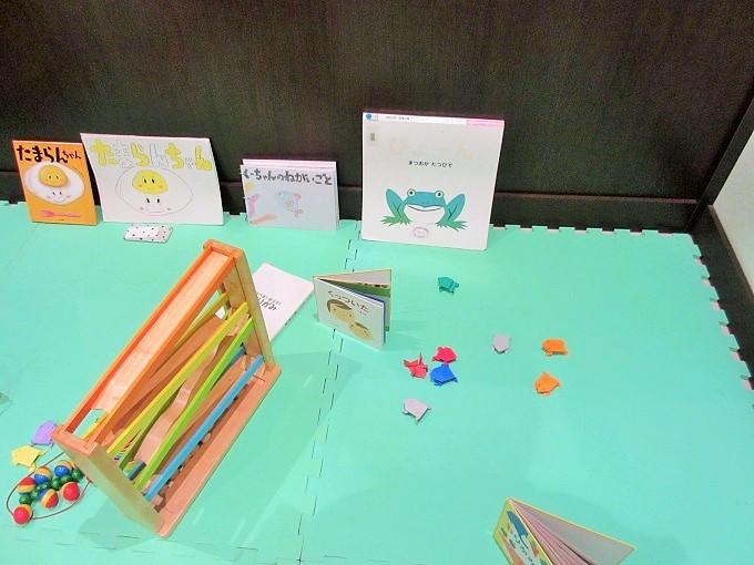 滋賀短大ベーカリー塾のキッズスペース