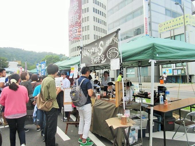 大津駅前オープンモール(2018年9月)