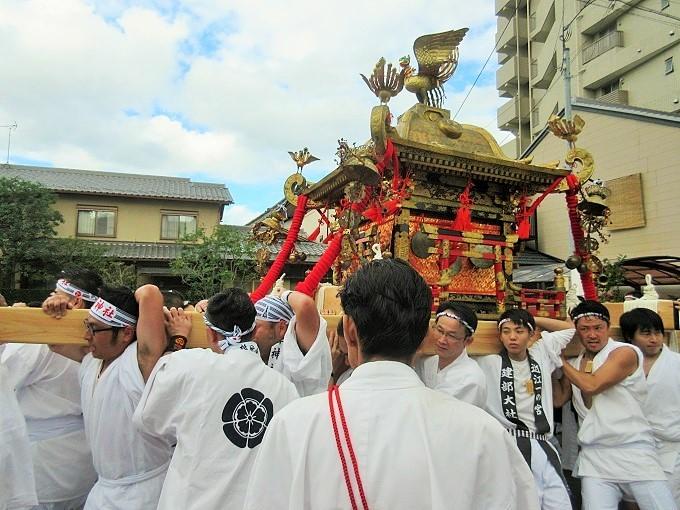 大津祭のお神輿