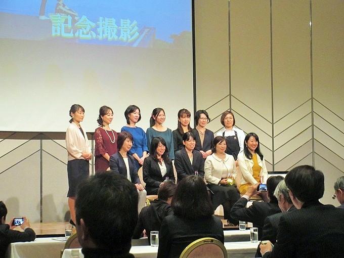 大津女性ビジネスプランコンテストのファイナリストと越市長